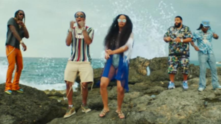 """DJ Khaled continue sur sa belle lancée avec """"We Going Crazy"""""""