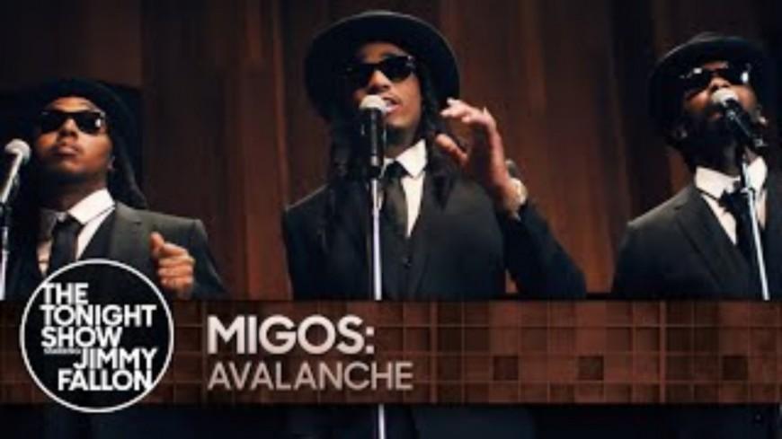 "Migos performe ""Avalanche"" chez Jimmy Fallon"