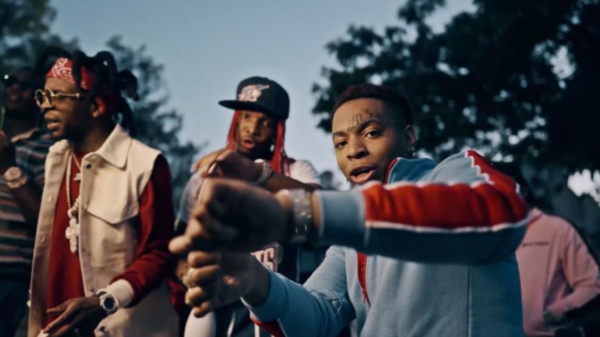 """Lil Gotit en groupe sur """"Get N Dere Gang"""""""