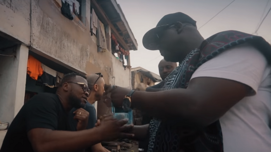 Tony Nobody présente ''Debout'' en direct du Cameroun !