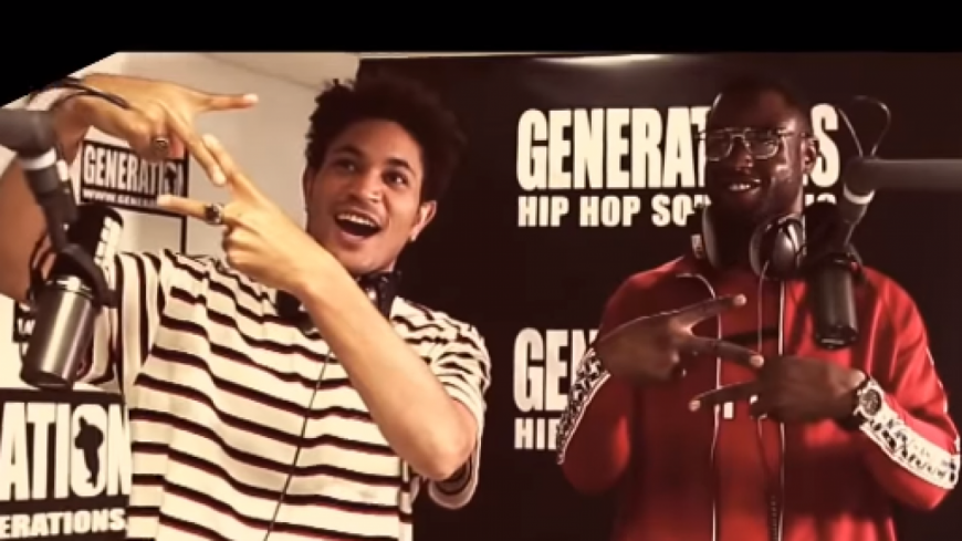 Les rappeurs Bryce Vine et S-Pion nous offrent un featuring inédit dans nos studios !