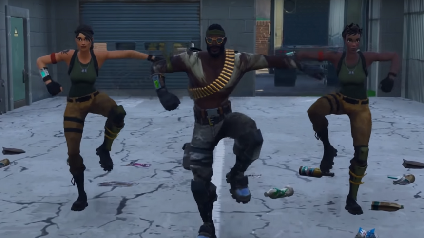 """""""This Is America"""" sur Fornite !"""