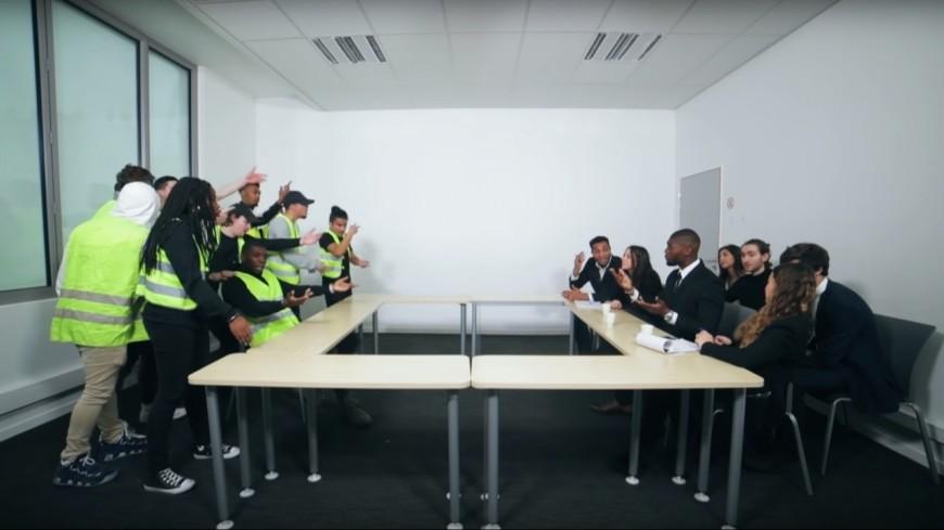 D.Ace signe l'hymne des gilets jaunes avec ''Tensions Sociales'' !
