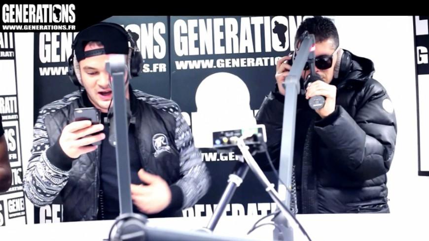 JUL & DJ Roc J - Freestyle (Live des studios de Generations)