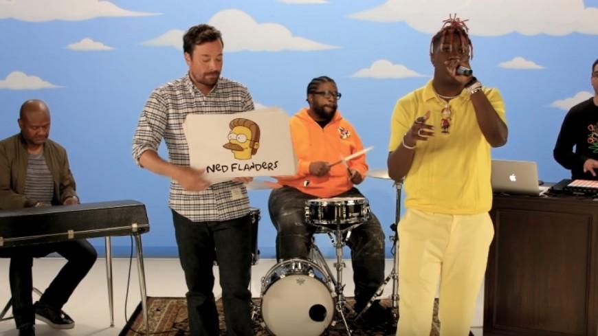 Lil Yachty freestyle sur tous les personnages des Simpson !