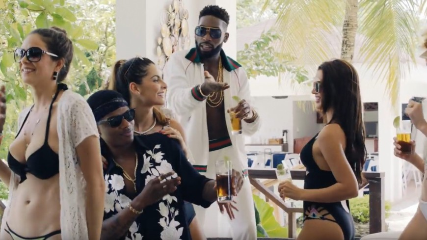 Tinie Tempah & Wizkid s'ambiancent en République Dominicaine pour ''Mamacita''