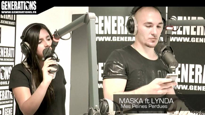 Maska ft Lynda - Mes Peines Perdues (Live des Studios de Generations)