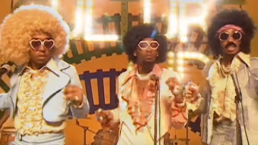 Quand les Migos se déguisent en mode disco !
