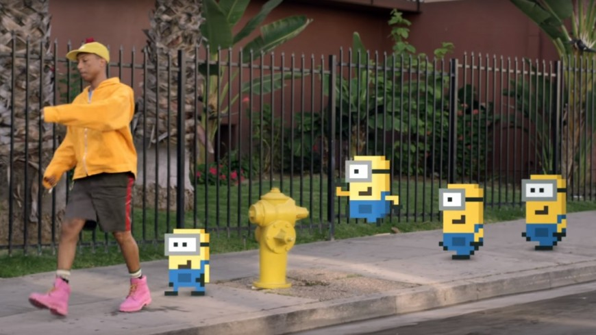 Pharrell Williams, les Minions et le clip barré de ''Yellow Light'' !